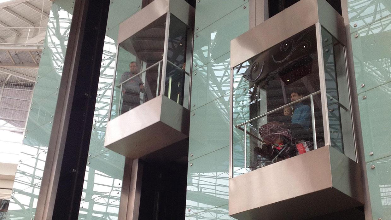 آسانسور کششی بدون موتورخانه MRL