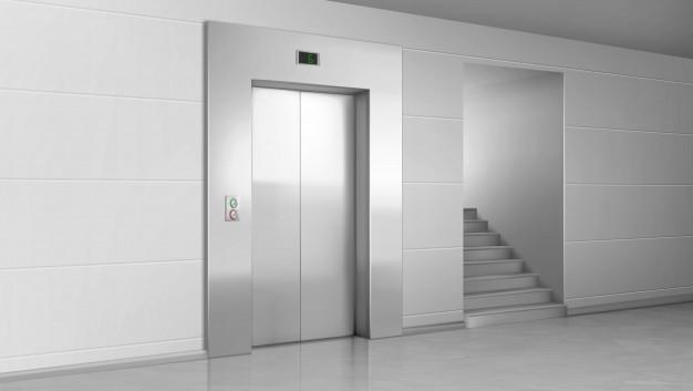 رفع بسته نشدن درب آسانسور