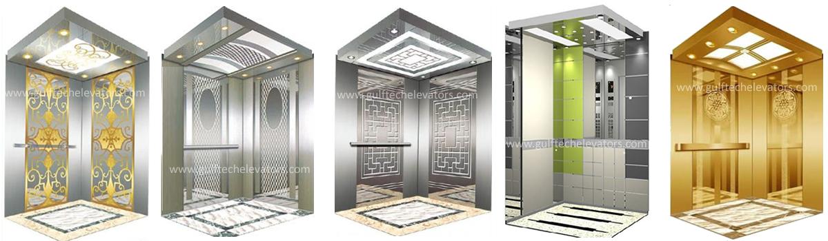 انواع کابین آسانسور