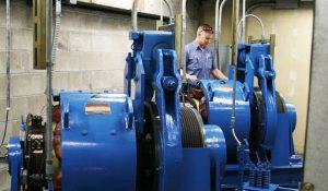 انواع موتورهای مورد استفاده در آسانسورها