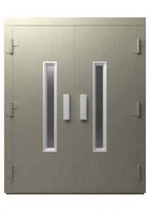 درب آسانسور ساده (لولایی) دو لنگه Bespoke Door :