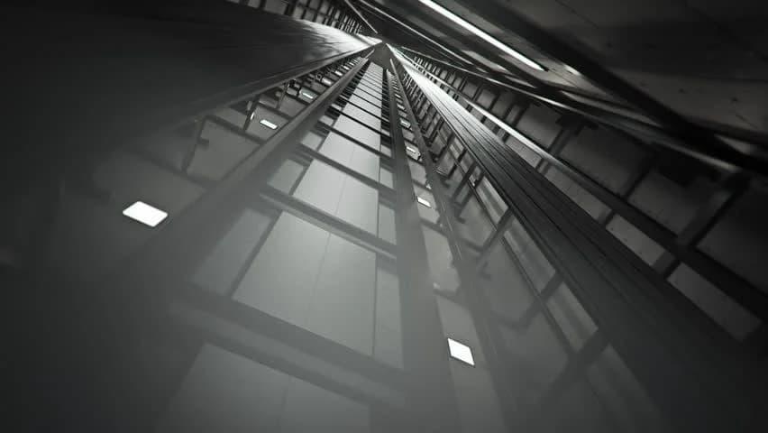روشنایی چاه آسانسور