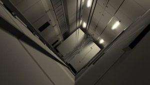 اهمیت روشنایی چاه آسانسور