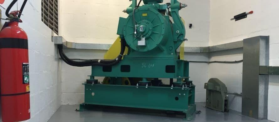 نصب و پیاده سازی شاسی موتور آسانسور