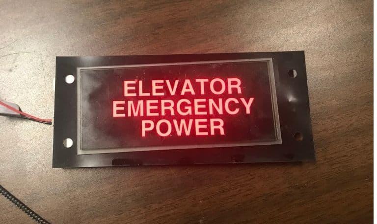 برق اضطراری آسانسور و بالابر