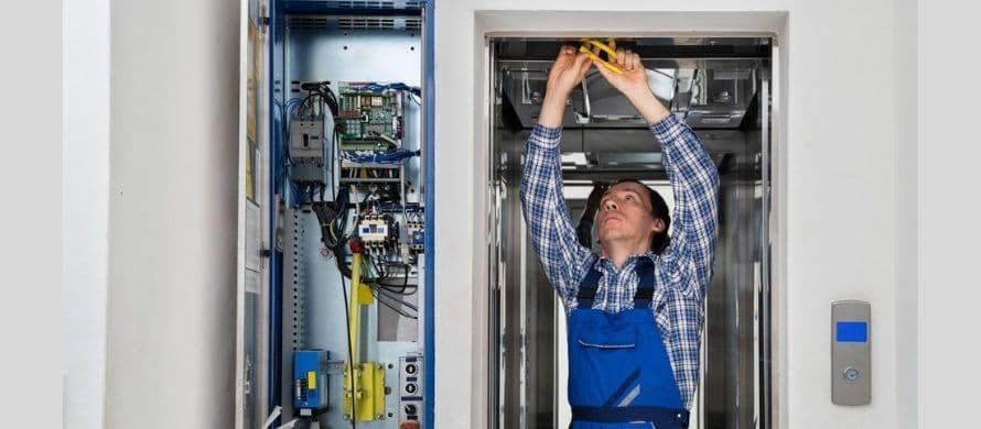 آموزش نصب فتوسل آسانسور