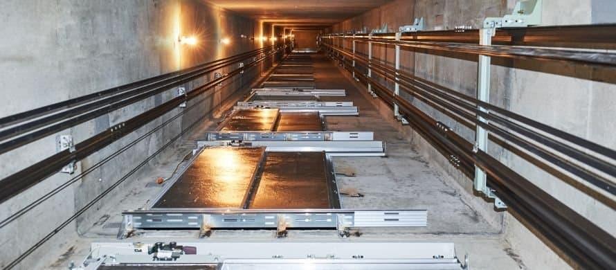 طراحی و اجرای دیواره های چاله آسانسور