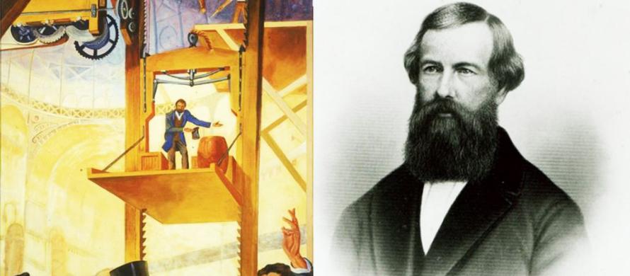 الیشا اوتیس مخترع آسانسور