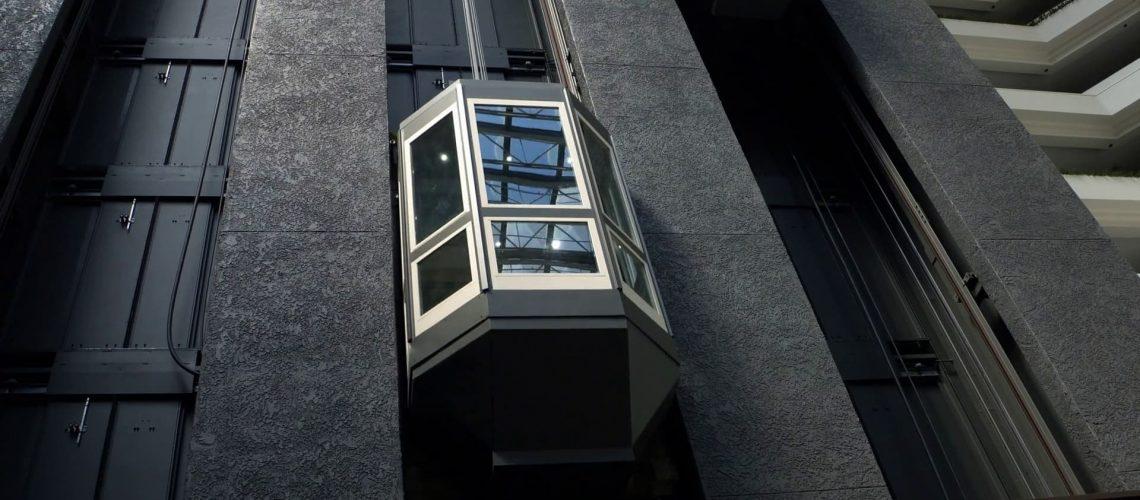 نحوه کار آسانسور کششی