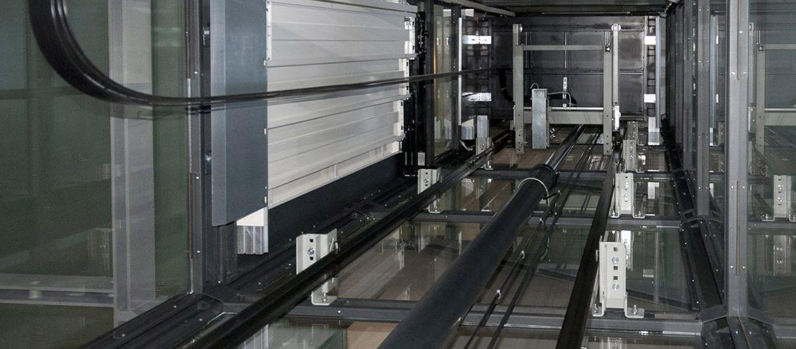 آسانسور هیدرولیکی جک از بغل